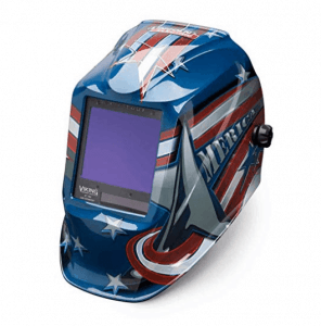 Lincoln VIKING® 3350 4C Lens Technology, American Flag Welding Helmet Review (K3175-4)